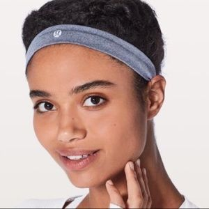Lululemon Thin Gray Headband